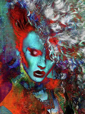 Digital Art - Hair Force One by Greg Sharpe