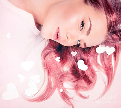 Photograph - Hair Idea For Valentine's Day by Anna Om