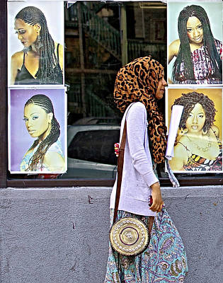 Beautiful Hijabs Photograph - Hair Or Hijab by Robert Frank Gabriel