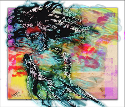 Hair Raiser Art Print by Monroe Snook