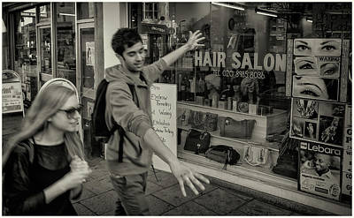 Photograph - Hair Salon by Stewart Marsden