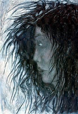 Creativity Drawing - Hair by Wojtek Kowalski