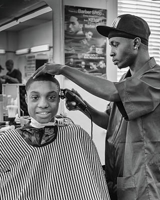 Photograph - Haircut At Joe's by Patricia Schaefer
