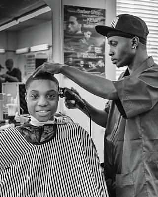 Photograph - Haircut At Joe's by Patricia Schaefer