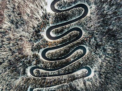 Photograph - Hairpins by Chris Thodd