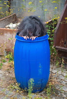 Horror Movies Photograph - Hairy Barrel by Matthias Hauser