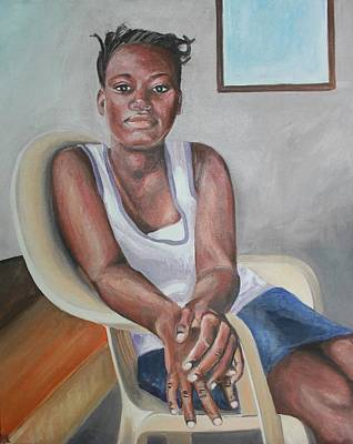 Haitian Painting - Haitian Beauty by Elizabeth Blanchard