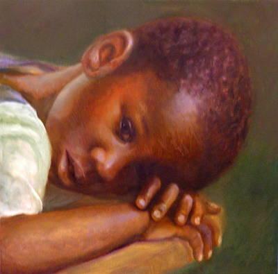 Haitian Painting - Haiti's Hope by Dorothy Nalls