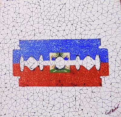 Razor Painting - Haity by Emil Bodourov