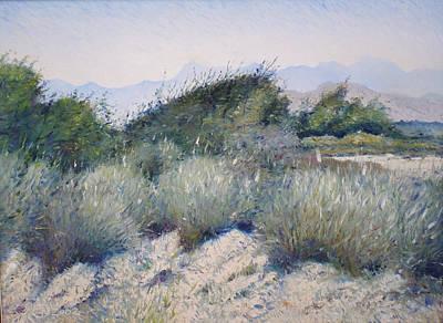 Hajar Mountains Oman 2002 Art Print by Enver Larney