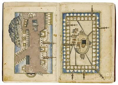 Hajj Painting - Hajj Illustrations by Celestial Images