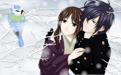 Fashion Digital Art - Hakuouki Shinsengumi Kitan by Super Lovely