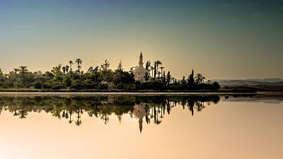 Cyprus Photograph - Hala Sultan Tekke  by Stelios Kleanthous