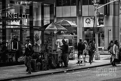 Photograph - Halal Food Cart, New York by Jim Orr