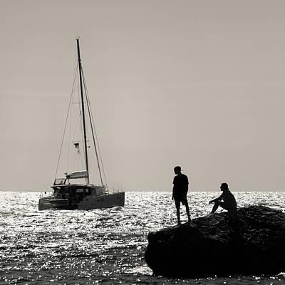Photograph - Halcyon Days by Dave Bowman