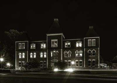 Photograph - Hale Hall, Louisiana Tech University by Chris Coffee
