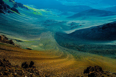 Photograph - Haleakala by M G Whittingham