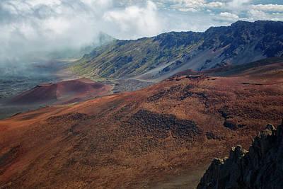 Photograph - Haleakala Crater 2 by Randy Hall