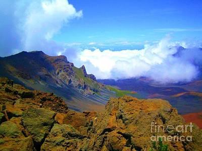 Kids Alphabet - Haleakala Crater by Gena Livings