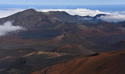 Photograph - Haleakala Crater by Jennifer Ancker