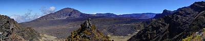 Haleakala Crater Lava Flows Maui Original by Dustin K Ryan