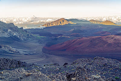 Photograph - Haleakala Crater by Leigh Anne Meeks