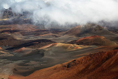 Photograph - Haleakala Crater by Randy Hall