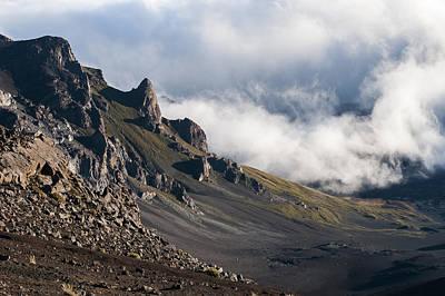 Photograph - Haleakala Crater by Robert Potts