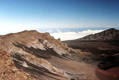 Photograph - Haleakala Crater by Will Borden