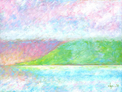 Painting - Haleakala Dawn by Angela Treat Lyon