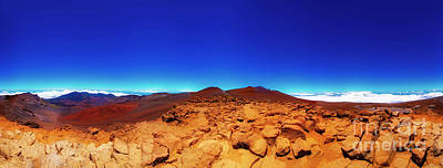 Photograph - Haleakala  East Maui Volcano by Tom Jelen
