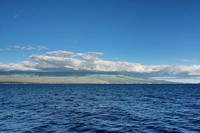 Photograph - Haleakala From The Sea by Jim Thompson
