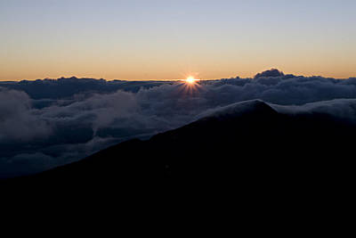 Photograph - Haleakala Maui Sunrise by Waterdancer