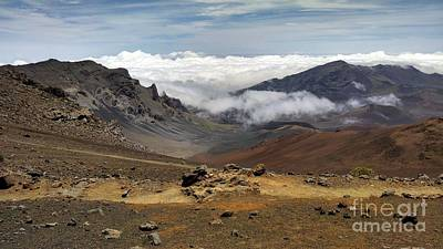 Photograph - Haleakala National Park by Michelle Welles