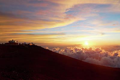 Photograph - Haleakala Observatory by Francesco Emanuele Carucci