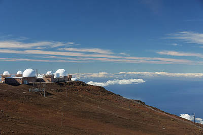 Photograph - Haleakala Observatory by Randy Hall