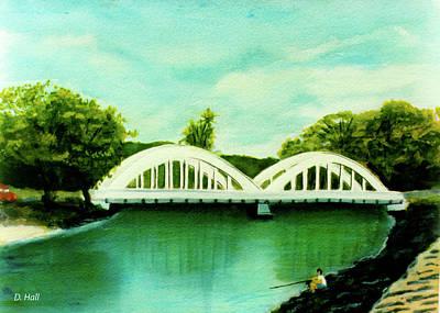 Haleiwa Bridge North Shore Oahu Hawaii #95 Art Print by Donald k Hall
