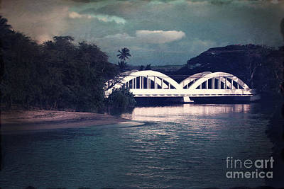 Haleiwa Bridge Art Print by Paul Topp