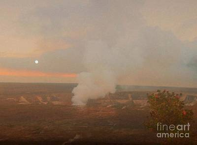 Kilauea Photograph - Halema'uma'u Crater, Kilauea by Uldra Johnson
