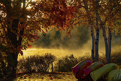 Photograph - Haley Pond-rangeley Maine by Jeff Folger