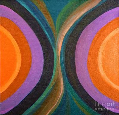 Painting - Half Circles by Ida Mitchell