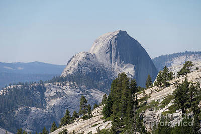 Photograph - Half Dome And Yosemite Valley From Olmsted Point Tioga Pass Yosemite California Dsc04221 by Wingsdomain Art and Photography