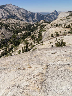 Photograph - Half Dome And Yosemite Valley From Olmsted Point Tioga Pass Yosemite California Dsc04265 by Wingsdomain Art and Photography