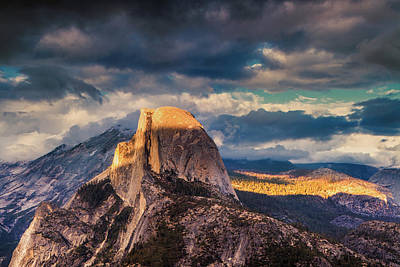 Photograph - Half Dome by Andrew Soundarajan