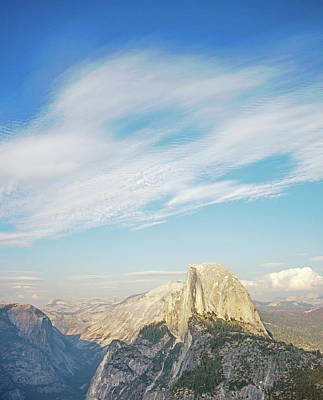 Photograph - Half Dome by Angie Schutt
