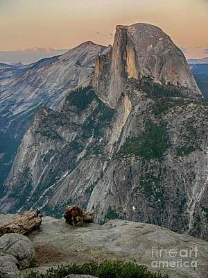 Rincon Mountains Wall Art - Photograph - Half Dome At Sunset In Glacier Point Yosemite National Park by Rincon Road Photography By Ben Petersen