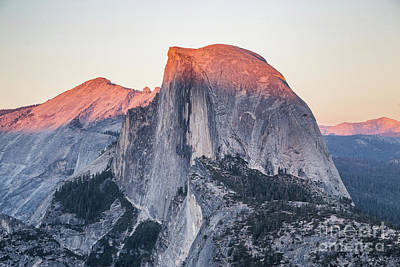 Photograph - Half Dome At Sunset by JR Photography