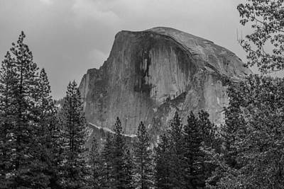 Photograph - Half Dome by Christopher Perez