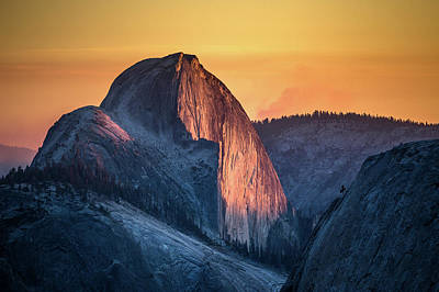 Photograph - Half Dome by Davorin Mance