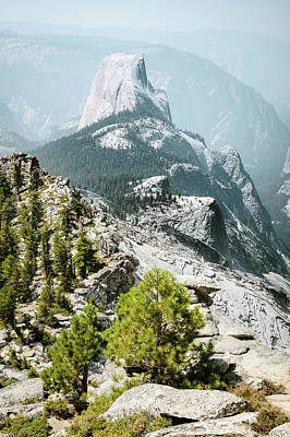 Photograph - Half Dome From Clouds Rest by Alexander Kunz